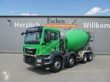 camión MAN TGS 32.400 BB 8x4,Fahrmischer 9 m³ Liebherr, EU6