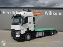Kamión valník bočnice Renault T 460 4x2 EUR6, Plattform,Sleeper Cab, Spurhalte