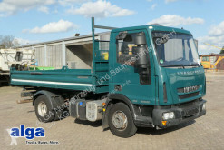 Iveco ML80E22K/220 PS/Meiller/Maul+Kugel AHK truck used three-way side tipper