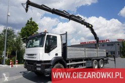 Camion Iveco Trakker AD 260 T 33 B plateau ridelles occasion