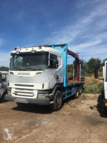 Used timber truck Scania R 500