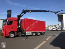 Mercedes Actros 2543 L 6x2 Koffer+LBW+Kran+Fly-Jib+Winde truck used tarp