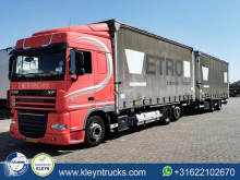 Used tautliner trailer truck DAF XF105