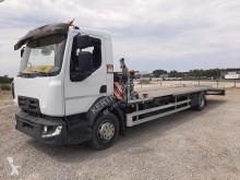 Camion porte engins occasion Renault Gamme D D14.210 PLATEAU PORTE MOBIL HOME