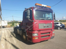 Camion Fassi MAN 28.480 6x2 tractor unit F230XF plateau ridelles occasion