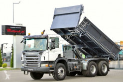 camión Scania P 380 / 6X4 / 2 SIDED TIPPER / BORTMATIC/ MANUAL