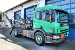 lastbil Scania 124 G 420 4x2 ATLAS ASK 133T Blatt/Blatt