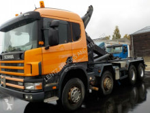 Camion Scania 114-380-8X4-AP multibenne occasion
