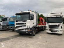 Scania C 114C380 truck used flatbed