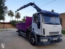 Camión caja abierta transportador de hierro usado Iveco Eurocargo 140 E 21 P