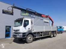 Camion plateau ridelles occasion Renault Kerax 380 DXI