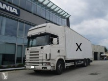 Camion Scania R124 420 furgon second-hand