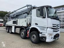 Camion Mercedes Arocs 3243 8x4 EURO6 BETONPUMPE PUTZMEISTER 42M pompe à béton occasion