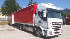 Használt függönyponyvaroló nyerges vontató és pótkocsi Iveco Stralis IVECO STRALIS 260S500 del 02/2012 - Km. 900000