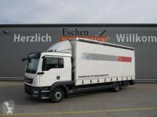 Camion savoyarde occasion MAN TGL 12.220 BL, Schiebeplane, Edscha, Euro6