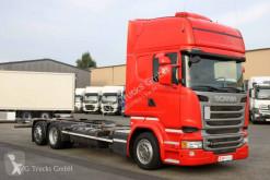 Camion Scania R 410 BDF Jumbo Standklima etade LDW ACC châssis occasion