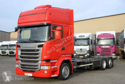 Camion châssis occasion Scania R 410 BDF Jumbo Standklima etade LDW ACC