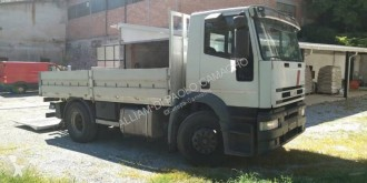 Camion Iveco Eurotech 190E24 plateau occasion