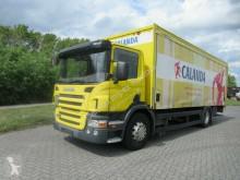 camión Scania P340 Getränke, Gardine, Aluwände, LBW, Kupllung