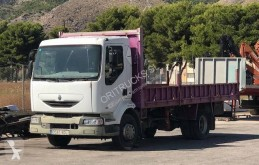 Camión Renault Midlum 210.13 caja abierta transportador de hierro usado