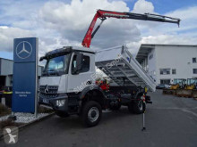 Mercedes Arocs 1832 AK 4x4 Kipper+Kran Fassi F120 + Funk truck new three-way side tipper
