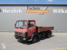 Camion ribaltabile trilaterale usato Mercedes 809 K, 4x2, 3 Sitzer, Blatt, AHK