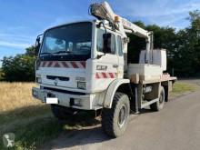 Camion cu nacela cu brat telescopic second-hand Renault Midliner 210