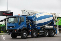 Camion pompe à béton Iveco EUROTRAKKER 380 / MIXER + PUMP SERMAC 3Z24/ 24 M
