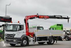 camion Mercedes AXOR 1829 / 4X2 /BOX - 6,2 M + CRANE FASSI F170/