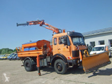 Camion tri-benne Mercedes 1617 CAK 4x4 KIPPER ATLAS KRAN 75.2 A2 5,5m AHK