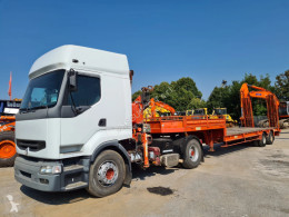 Renault Premium 4x2 tractor-trailer used heavy equipment transport