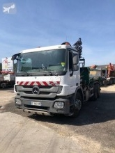 Used two-way side tipper truck Mercedes Actros 2636
