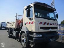 Vrachtwagen Renault Kerax 270.19 tweedehands tweezijdige kipper