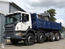 Scania P 124P420 truck used two-way side tipper