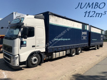 Used tautliner trailer truck Volvo FH 460
