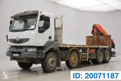 Camion Renault Kerax 410 DXI plateau occasion