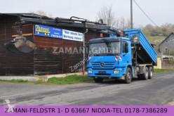 camion Mercedes Actros 2641 6X4 *3S Kipper*Bordmatik*Kran*Greife
