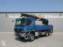 Camion Mercedes 3341, 6x6, Blatt, Pritsche MKG HLK 331 Kran,Funk plateau ridelles occasion