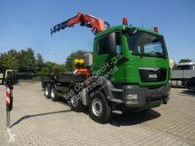 lastbil flatbed sidetremmer brugt