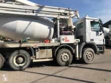 Camion betoniera cu malaxor si pompa Mercedes Actros 3236
