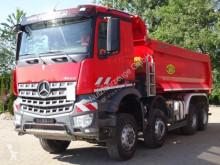 Camión volquete usado Mercedes Arocs 4142 8x6 EURO6 Muldenkipper TOP!