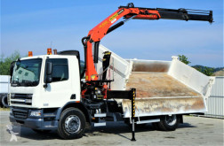 camión volquete volquete trilateral usado