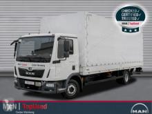 MAN TGL 12.250 4X2 BL Pritsche Plane LBW AHK Klima truck used tarp
