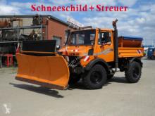 Mercedes Unimog Schneeschild camion déneigeuse occasion