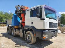 Camión volquete MAN CABEZA TRACTORA 6x4 MAN 460 AÑO 2003 PALFINGER PK 56002
