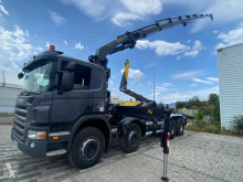Used hook arm system truck Scania P 380
