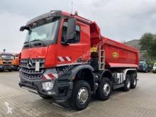 Used tipper truck Mercedes Arocs 4142 8x6 Euro 6 Muldenkipper MEILLER TOP!