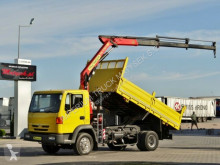 Ciężarówka Nissan CABSTAR TK 210 / TIPPER + CRANE PALFINGER PK7501 platforma używana