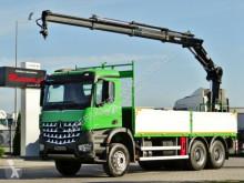 Camion cassone Mercedes AROCS 2636 / 6X4 / CRANE HIAB 144/ RADIO/ EURO 6
