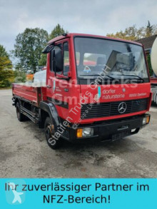 Camión caja abierta teleros usado Mercedes 814 Hiab Kran 060 blatt Schalt kurz deuts. Fzg.